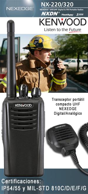 KENWOOD NX-220 NX-320 - Digital Walkie Talkies