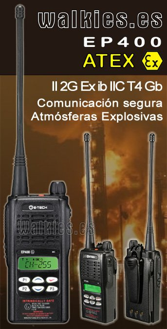 Rental Walkie Talkies ATEX